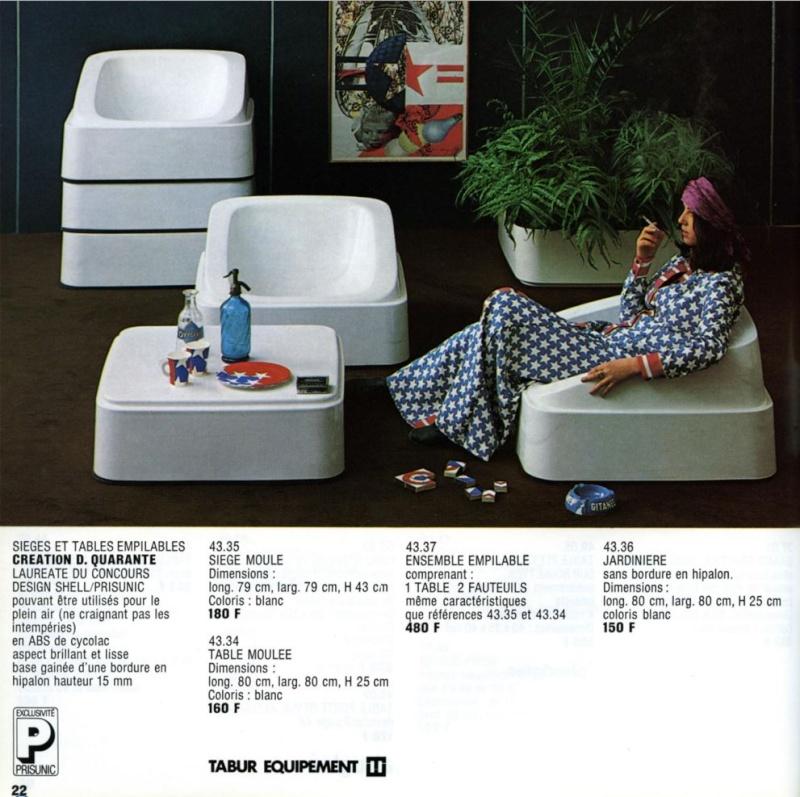 Les meubles Prisunic Captur50