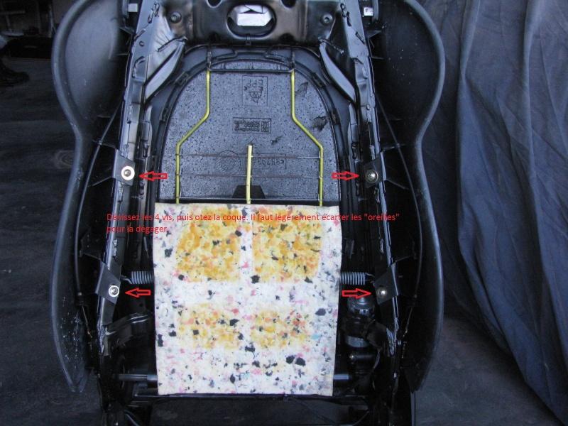 996 - réparation résistance chauffage - peinture coque Tuto610