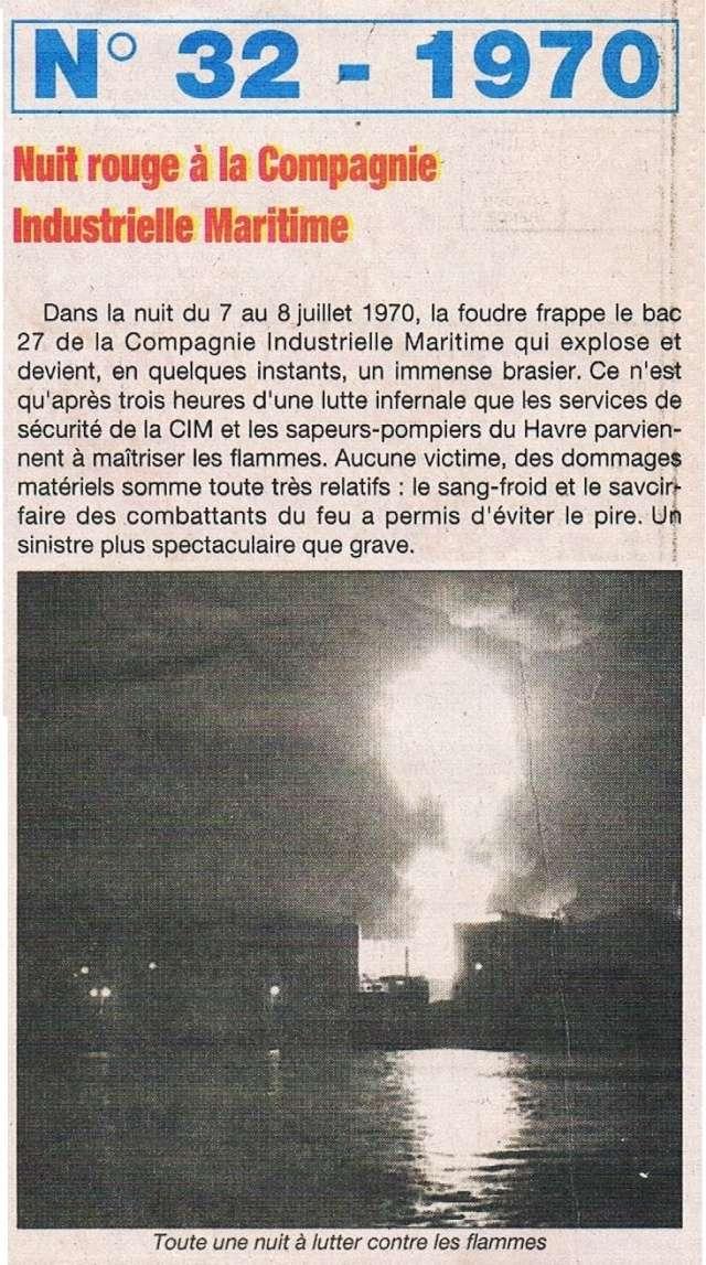 1970 - Incendie CIM, Usines Gruchet ... 1995-017