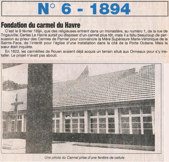 1894 - Tramways électriques, Course auto Paris-Rouen, Carmel ... 1995-019