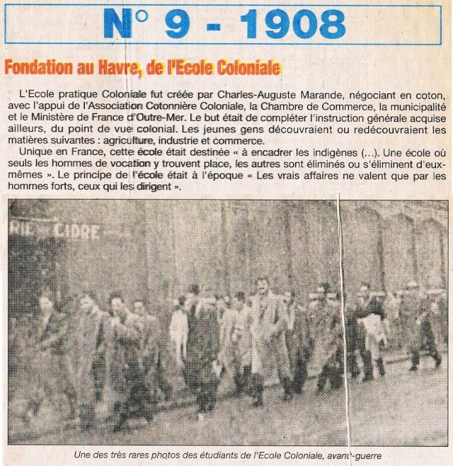 1908 - Ecole coloniale MARANDE ... 1995-029