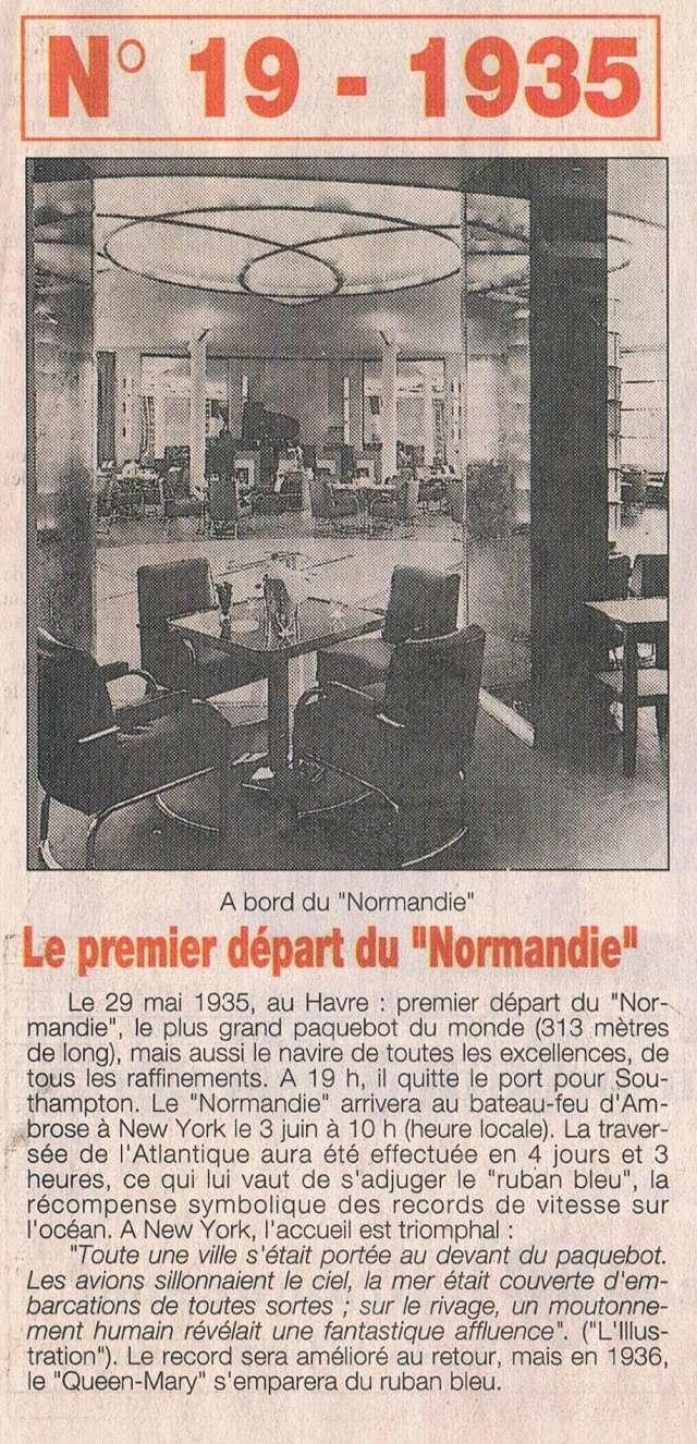 Paquebot Normandie 1935 1995-037