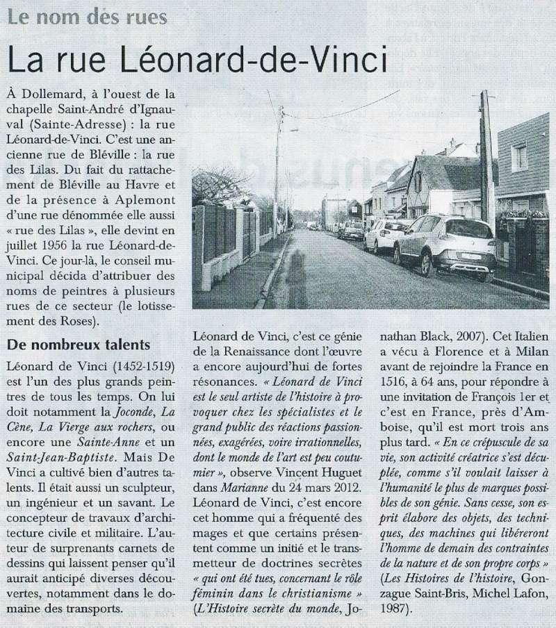 Havre - Le Havre - Rue Léonard de Vinci 2015-123