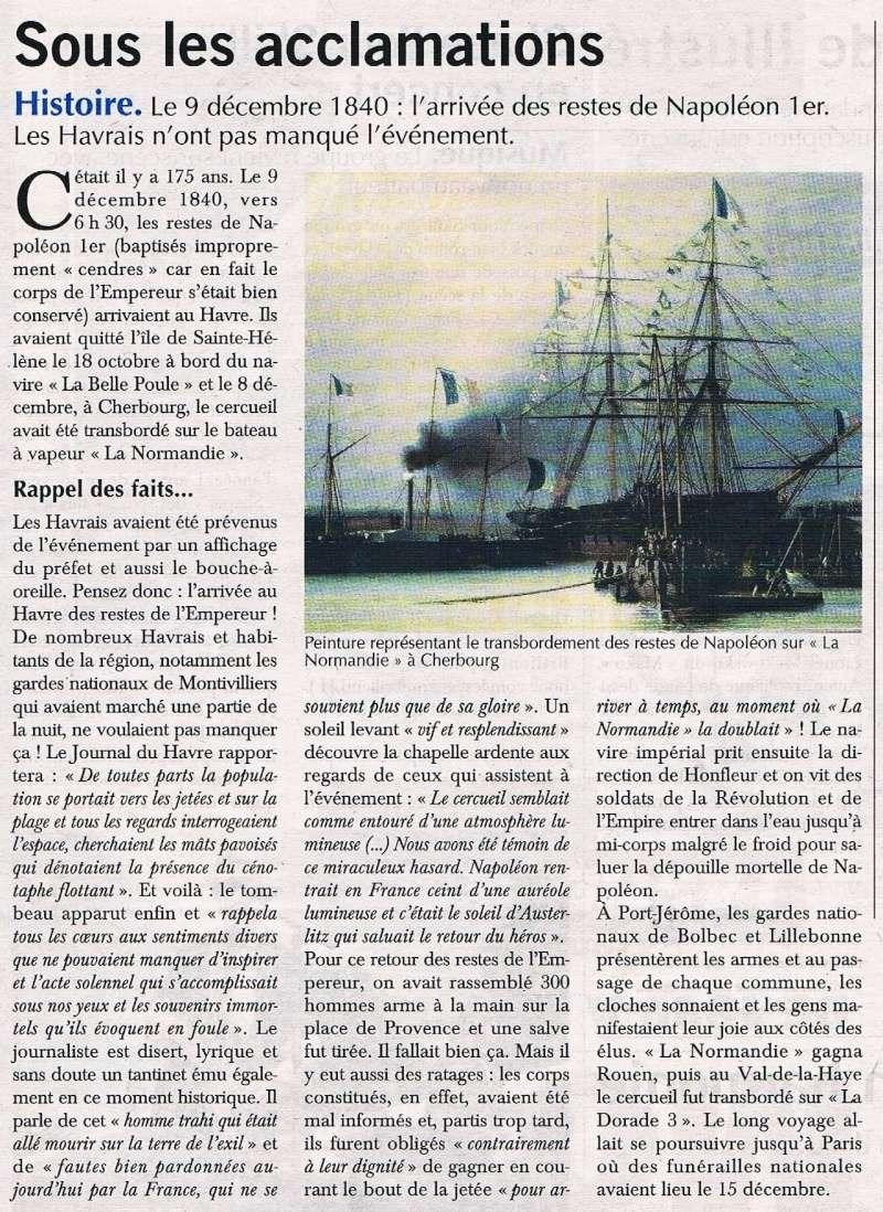 Havre - Arrivée au Havre du cercueil de Napoléon 1er en 1840 2015-125