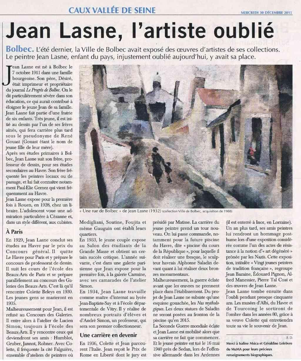 bolbec - Jean LASNE Peintre oublié 2015-128