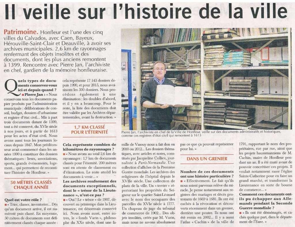 Archives Municipales de Honfleur 2016-014