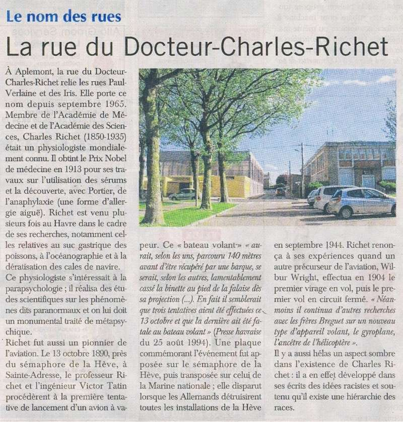 Havre - Le Havre - Rue du Docteur Charles Richet 2016-019