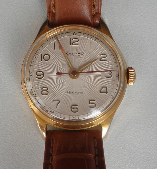 Quelle est la montre russe que vous portez le plus souvent? Vostok11