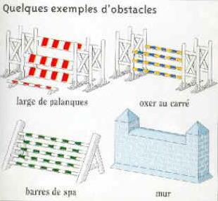 Le saut d'obstacle Barre10