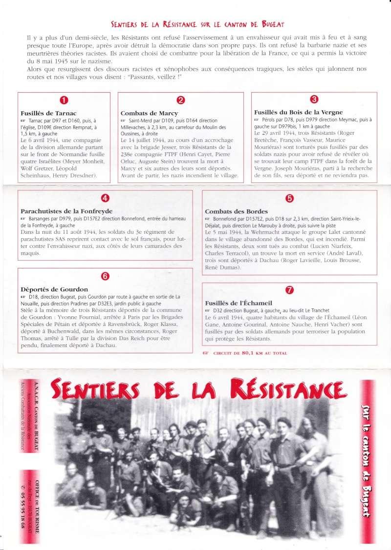 BUGEAT ( Corrèze ) - Les sentiers de la Résistance Img_0011