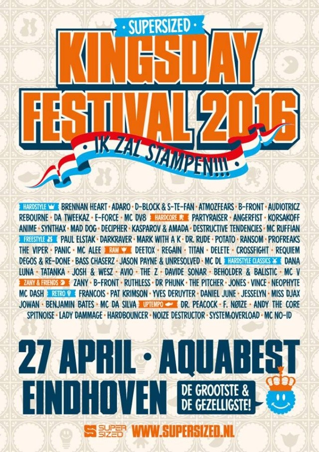 [ Supersized Kingsday Festival 2016 - 27 Avril 2016 - Aquabest - Best - NL ] 99996610