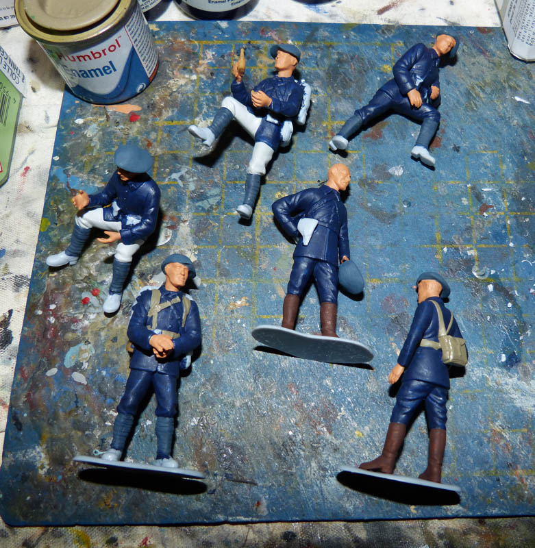 Chasseurs Alpins - 1/35. FINI !! Chasse10