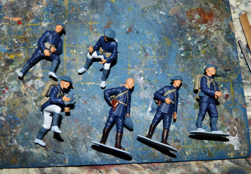 Chasseurs Alpins - 1/35. FINI !! Chasse11