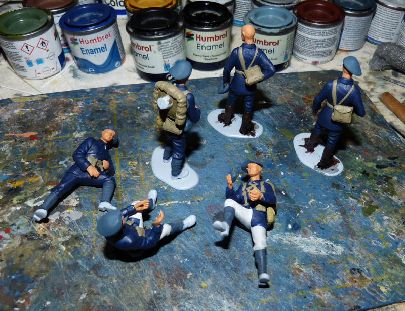 Chasseurs Alpins - 1/35. FINI !! Chasse12