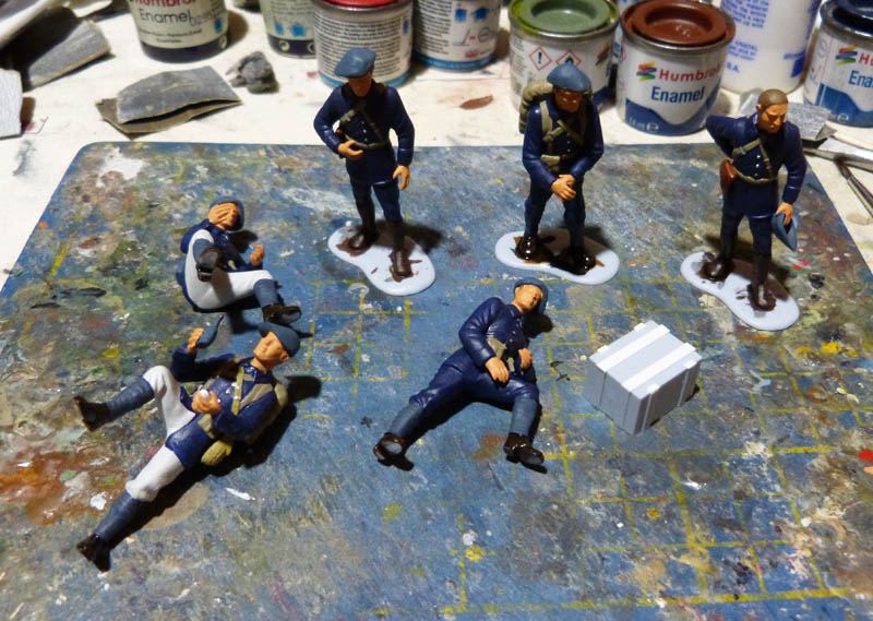 Chasseurs Alpins - 1/35. FINI !! Chasse13