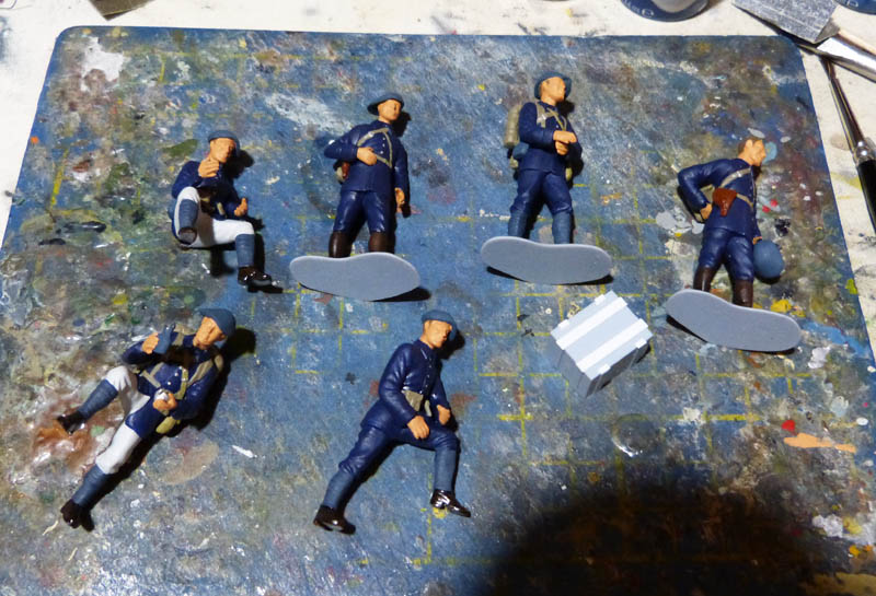Chasseurs Alpins - 1/35. FINI !! Chasse14