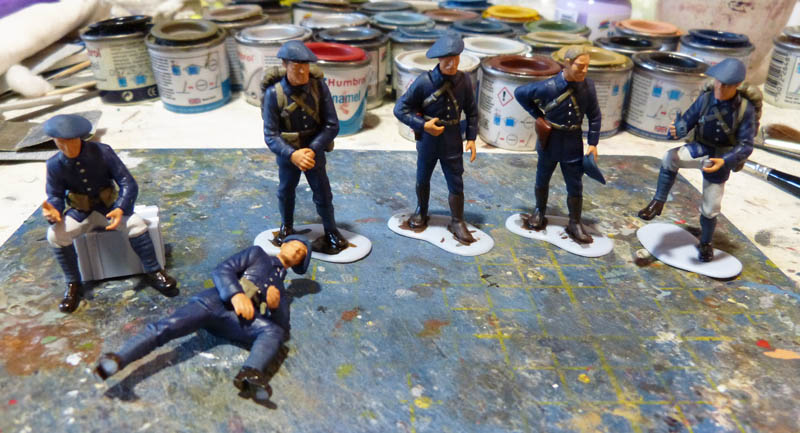 Chasseurs Alpins - 1/35. FINI !! Chasse15