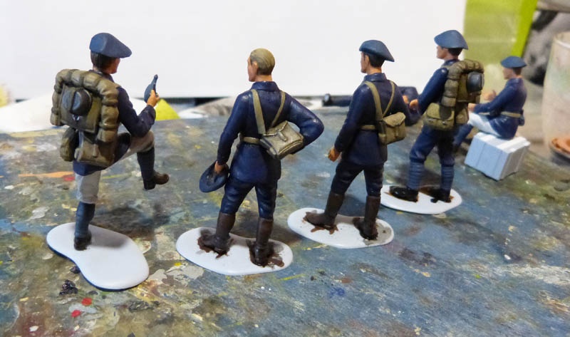 Chasseurs Alpins - 1/35. FINI !! Chasse17