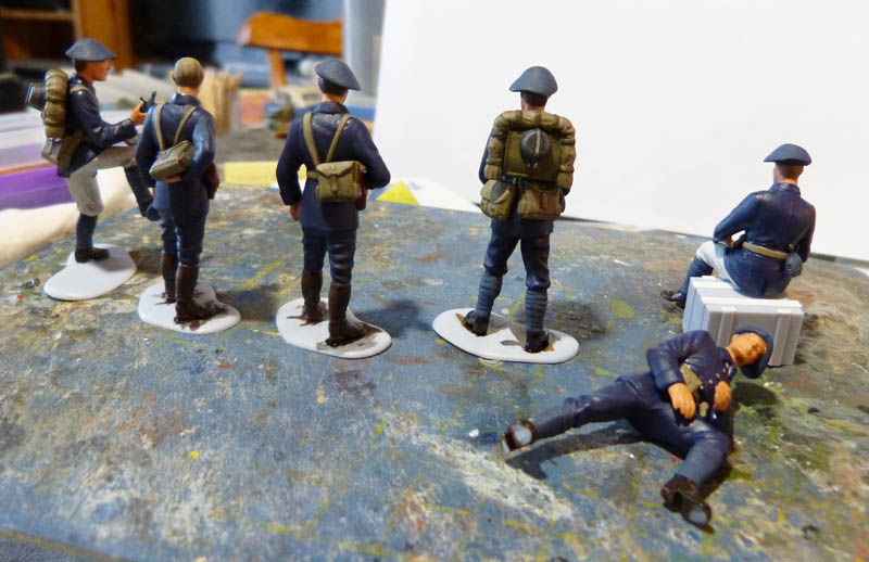 Chasseurs Alpins - 1/35. FINI !! Chasse18