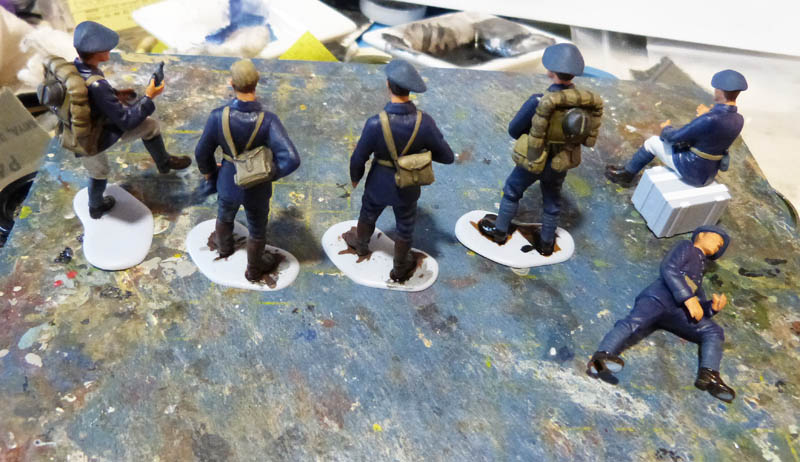 Chasseurs Alpins - 1/35. FINI !! Chasse19
