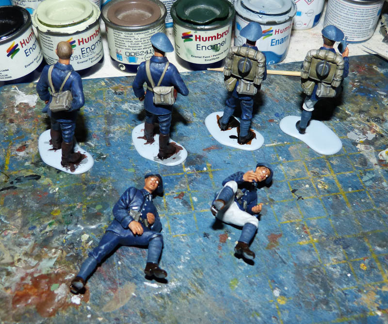 Chasseurs Alpins - 1/35. FINI !! Chasse23