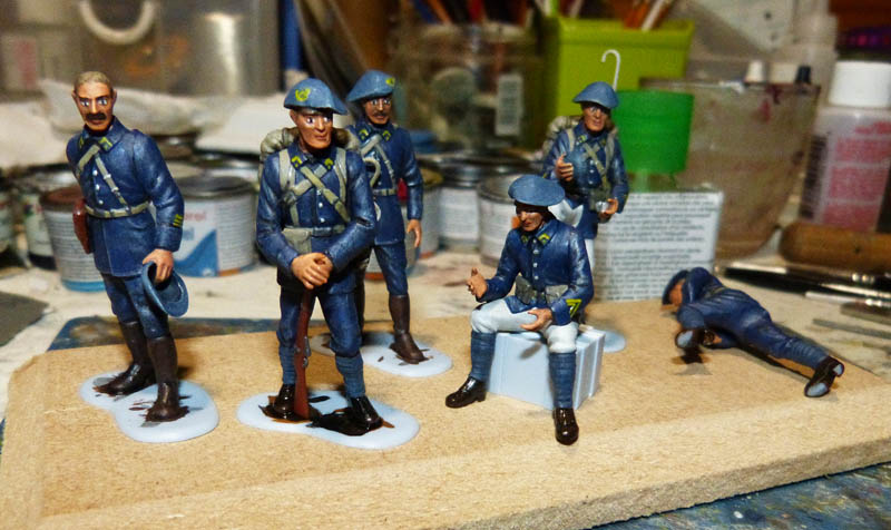 Chasseurs Alpins - 1/35. FINI !! Chasse28