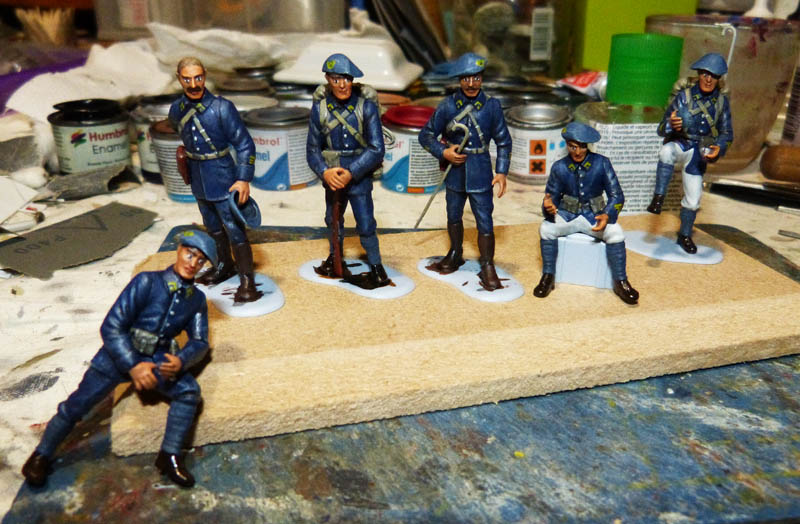 Chasseurs Alpins - 1/35. FINI !! Chasse29