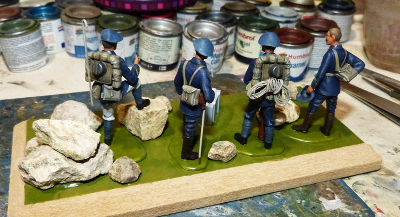 Chasseurs Alpins - 1/35. FINI !! Chasse33