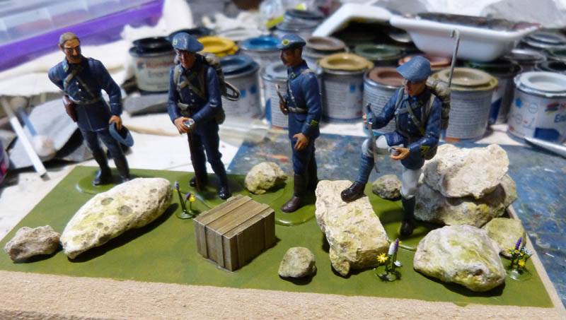 Chasseurs Alpins - 1/35. FINI !! Chasse35