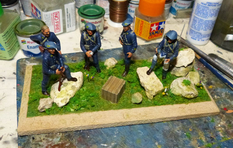 Chasseurs Alpins - 1/35. FINI !! Chasse36