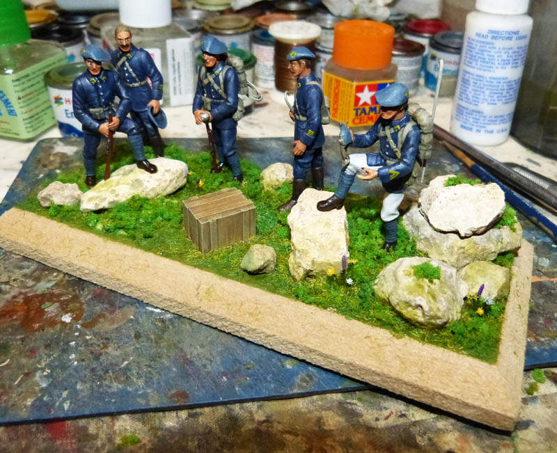 Chasseurs Alpins - 1/35. FINI !! Chasse37