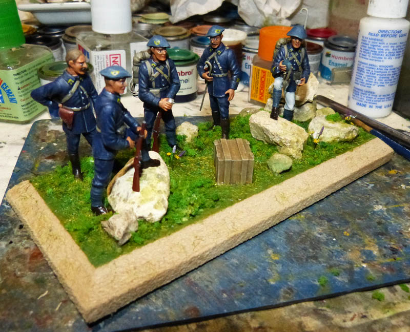 Chasseurs Alpins - 1/35. FINI !! Chasse38