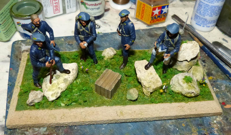 Chasseurs Alpins - 1/35. FINI !! Chasse40
