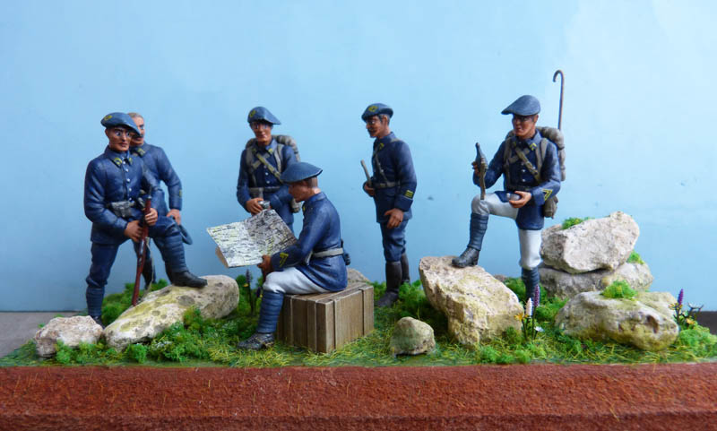 Chasseurs Alpins. Chasse54