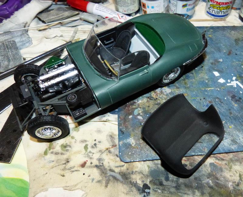 JAGUAR Type E Cabriolet - 1/24. Jaguar11