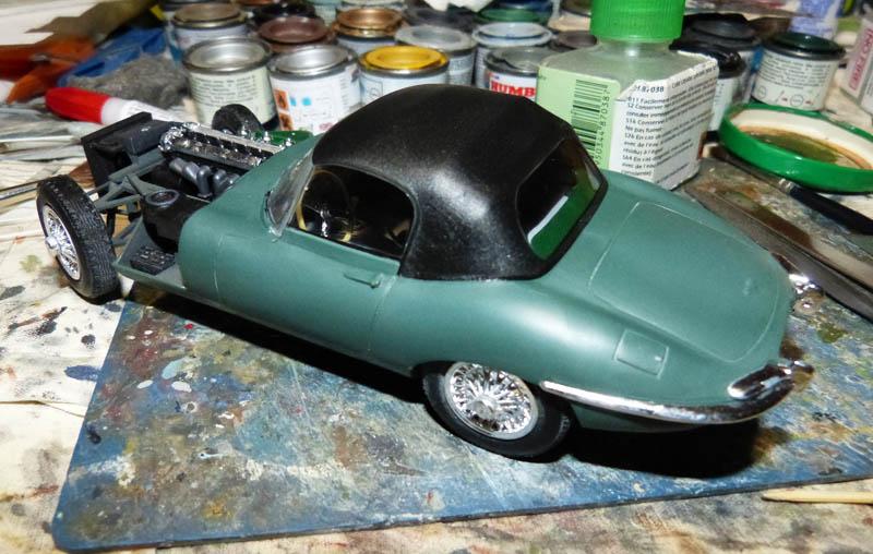 JAGUAR Type E Cabriolet - 1/24. Jaguar12