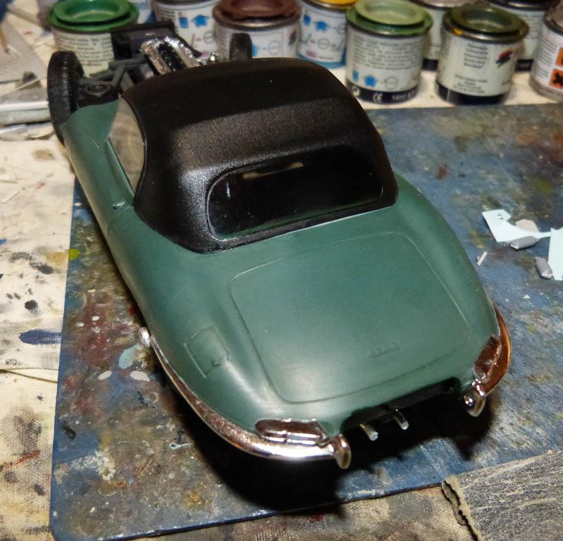JAGUAR Type E Cabriolet - 1/24. Jaguar13