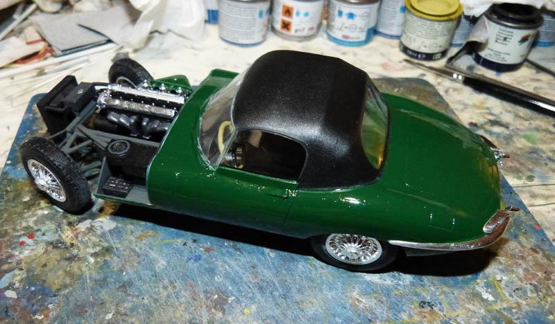JAGUAR Type E Cabriolet - 1/24. Jaguar14