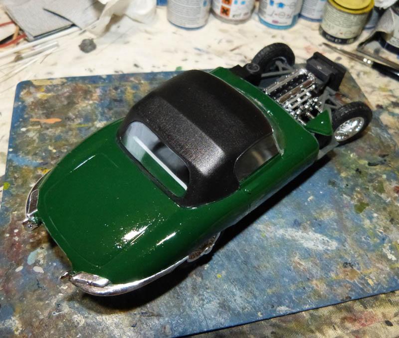 JAGUAR Type E Cabriolet - 1/24. Jaguar15