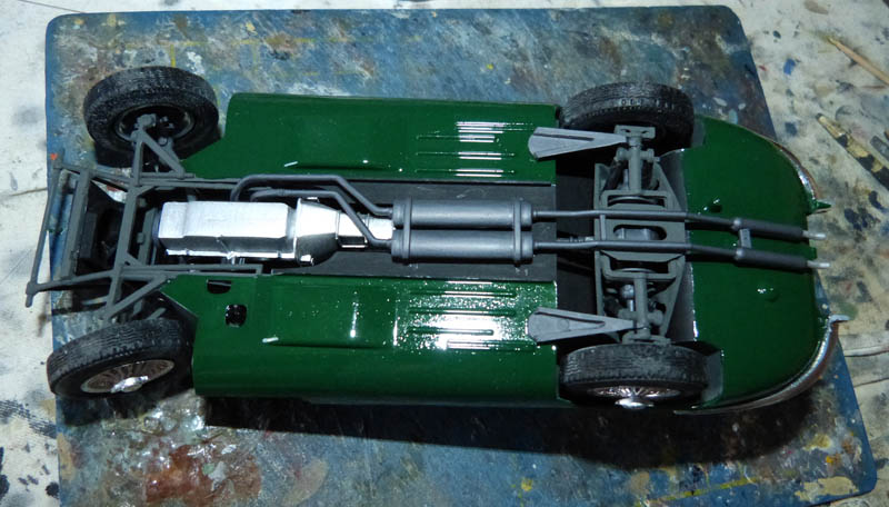 JAGUAR Type E Cabriolet - 1/24. Jaguar17