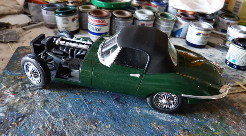 JAGUAR Type E Cabriolet - 1/24. Jaguar19
