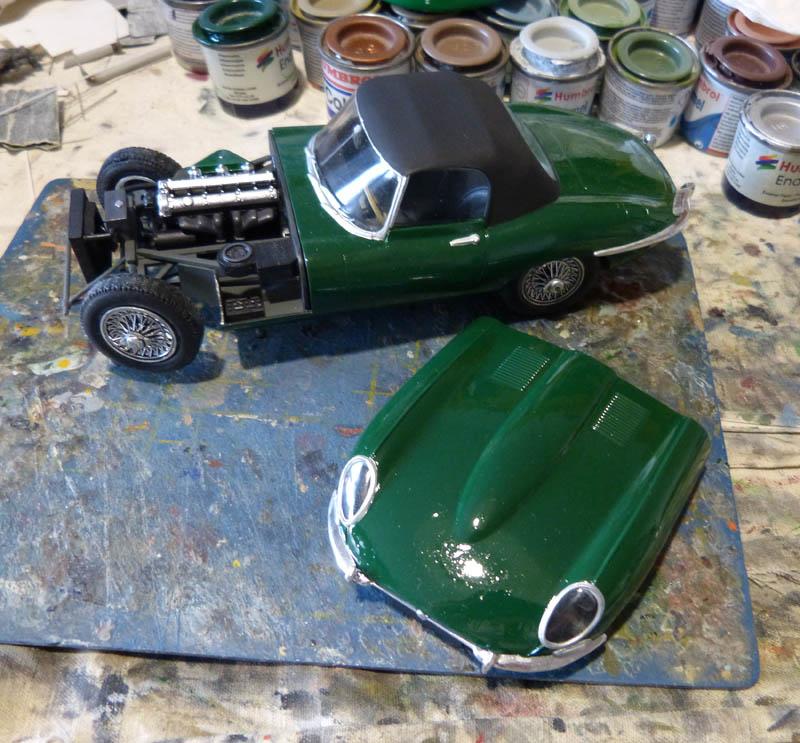 JAGUAR Type E Cabriolet - 1/24. Jaguar20