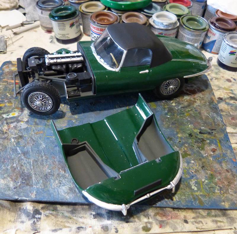 JAGUAR Type E Cabriolet - 1/24. Jaguar21