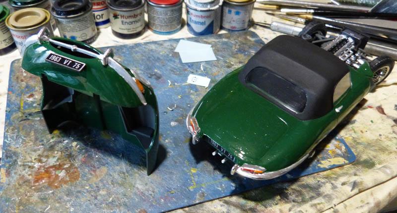 JAGUAR Type E Cabriolet - 1/24. Jaguar22
