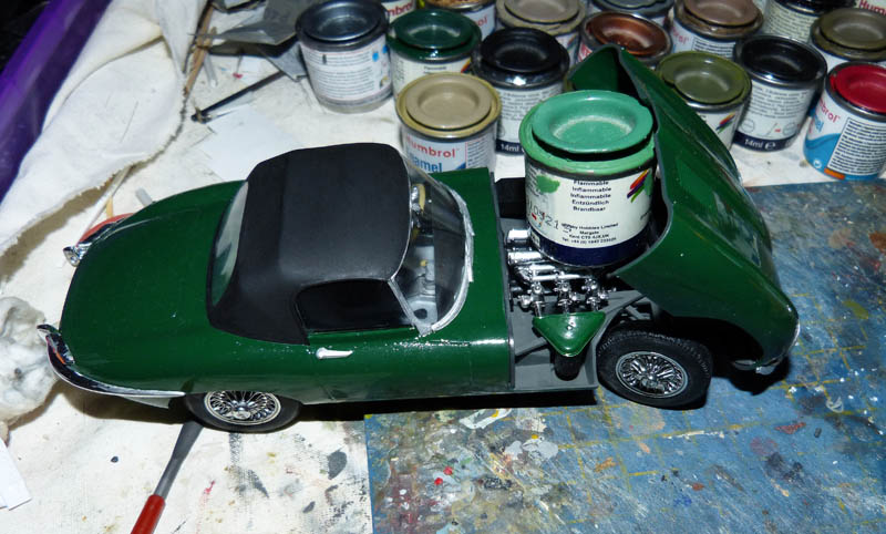 JAGUAR Type E Cabriolet - 1/24. Jaguar23