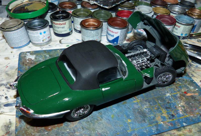 JAGUAR Type E Cabriolet - 1/24. Jaguar25