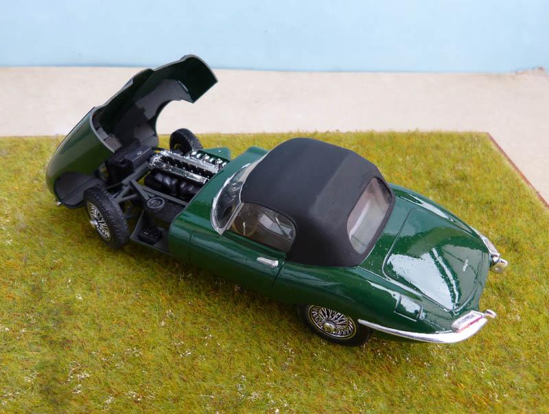 JAGUAR Type E Cabriolet - 1/24. Jaguar26