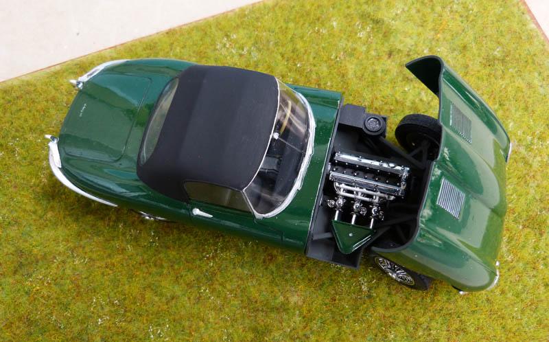 JAGUAR Type E Cabriolet - 1/24. Jaguar36