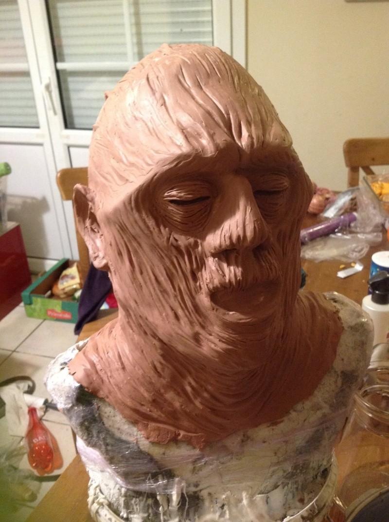 Sculpture momie en Chavant 2momie11