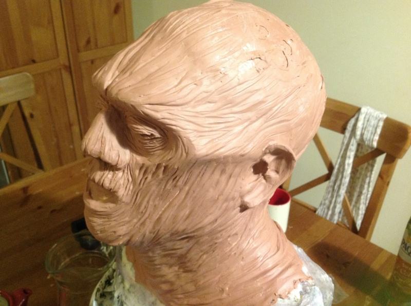 Sculpture momie en Chavant 2momie13